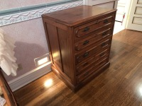 Early Victorian Gentleman's Chest - Pine - 3
