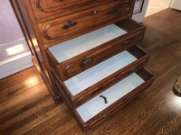 Early Victorian Gentleman's Chest - Pine - 4