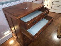 Early Victorian Gentleman's Chest - Pine - 5