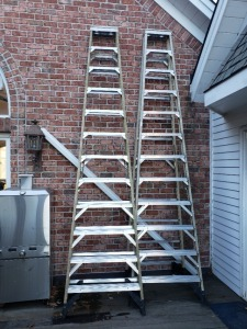 (2) 12 Foot Werner Ladders - Heavy Duty