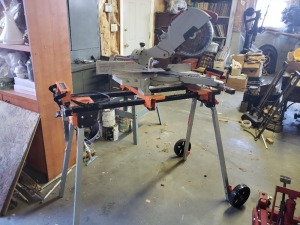 Milwaukee 10 IN Miter Saw With Port A Mate Stand - Heavy Duty