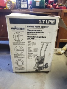 Wagner 1.7 LPM Airless Paint Sprayer 2/3 HP