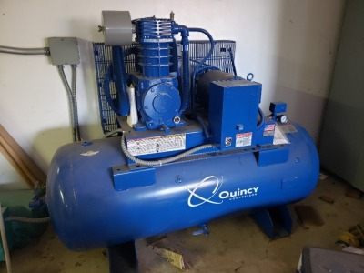 Quincy 2 Stage Compressor 10 HP