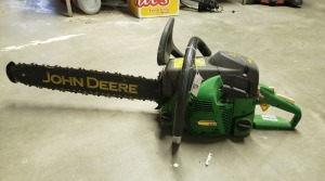 John Deere CS56 Chainsaw