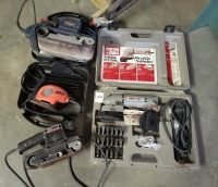 (4) Electric Sanders Lot - Bosch/Porter Cable