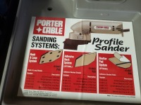 (4) Electric Sanders Lot - Bosch/Porter Cable - 2