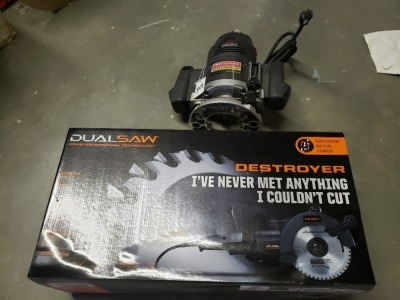 Craftsman Professional Router And Destroyer Dual Saw