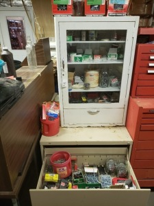 Heavy Duty Cabinets and Contents Screws/Nuts/Bolts