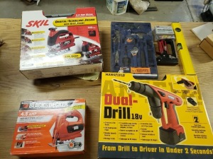 Power Tools Lot - Drill And Jigsaws