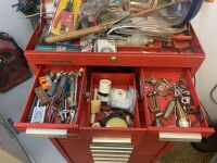 Kennedy Rolling Tool Box With Tools - Red (Workshop) - 3