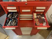 Kennedy Rolling Tool Box With Tools - Red (Workshop) - 5
