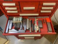 Kennedy Rolling Tool Box With Tools - Red (Workshop) - 7