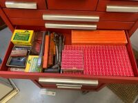 Kennedy Rolling Tool Box With Tools - Red (Workshop) - 8