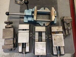 Precision Machine Vices Lot