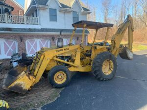 Ford 535 Back Hoe with Front Shovel