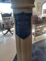 Antique General Mills Scale - Did You Weigh Yourself Today - 2