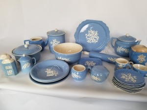 Harker Cameo Ware Lot - Large Collection