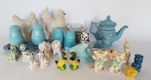 Mixed Lot Salt And Pepper Shakers - Vintage Kitchen Ware