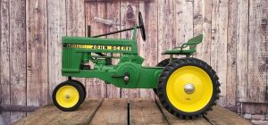 Customized Eska John Deere Small 60-Seat Back