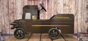 UPS Package Car pedal