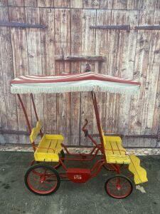 Universal Gym-Dandy Surrey pedal car