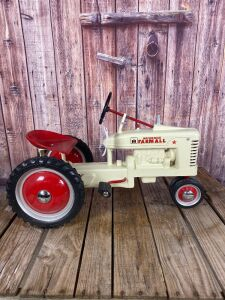 Custom Painted Eska Farmall White Demonstrator Small H