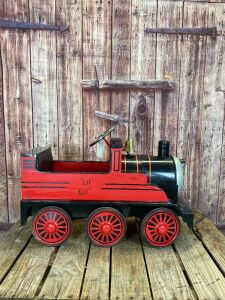 "Airflow Collectibles ""Lil' Red"" pedal locomotive"