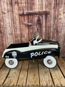 InStep (?) City Police No. 04 pedal car