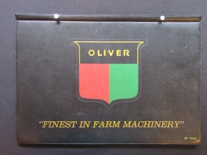 Oliver collectors book