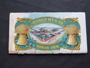 "1904 ""The Huber MFG Co."""