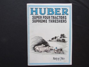 Huber Super Four Tractors Supreme Threshers