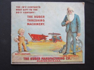 "1900 ""The Huber Threshing Machinery"""