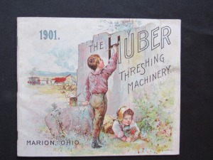 "1901 ""The Huber Threshing Machine"""