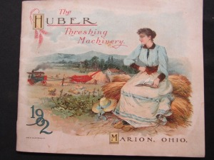 "1902 ""The Huber Threshing Machine"""