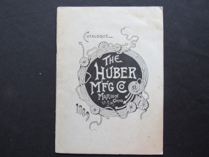 "1889 ""The Huber MFG Co"""