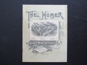 "1890 or 1891 ""The Huber"""
