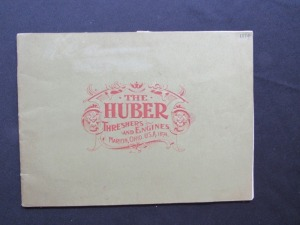 "1894 ""The Huber Threshers and Engines"""