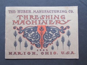 "1905 ""The Huber Manufacturing Co."""
