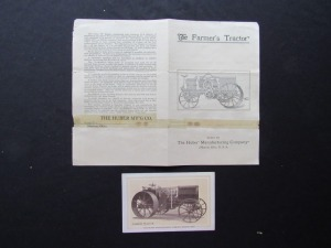 The Farmer's Tractor Card and Booklet
