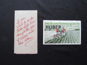 2 Huber Light Four Mailings
