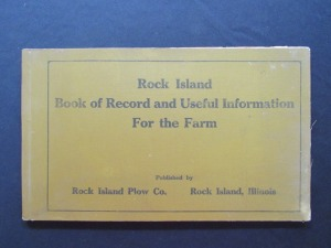 Rock Island Book of Record and Useful Information for the Farm