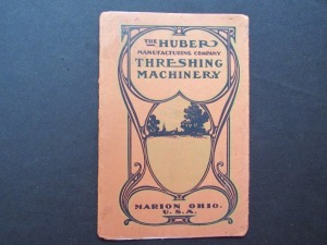 The Huber Manufacturing Company Threshing Machinery