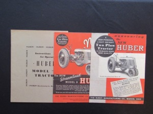 Huber B Catalogs and Operating Manual (3)