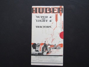 Huber Super 4 and Light 4 Tractors