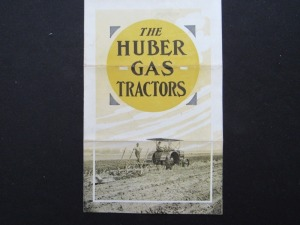 The Huber Gas Tractors