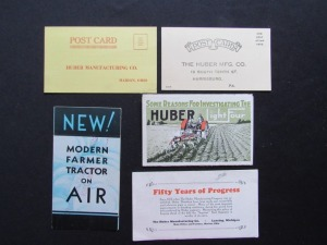 Huber Mailers and Postcards (5)