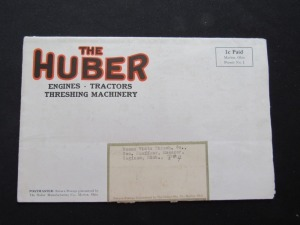 Huber Machinery Poster