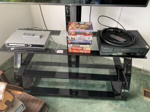 TV stand, Dvd&Vhs players , dvd movies