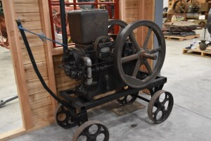Domestic 3hp Side Shaft Engine