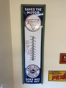 Large Polarine Motor Oil Thermometer